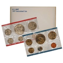 1977 P & D US Mint Set United States Original Government Packaging Box C... - $11.49