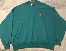 Jerzees Sweat Shirt Men's 8 oz NuBlend 50/50 Fleece Crew 562 2X/Green - $17.03 CAD