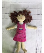 Furnis Dora Small Plush Stuffed Girl Cloth Doll Toy Yarn Hair - $23.36