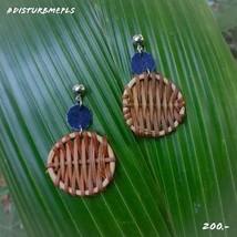 Wooden earrings - $29.00