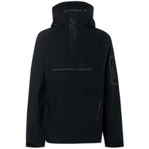 Oakley Men's 10k/ 2l Anorak Snow Shell Jacket Black Waterproof Breathable XL NWT - $290.00