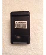 Travel USB Battery Dock Charger For Samsung SGH - I500 i897 I9000 D700 T... - $7.97