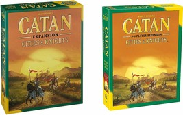Catan: Cities & Knights Expansion 5th Edition PLUS Catan 5-6 Player Exte... - $86.57