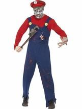 Zombie Klempner Kostüm ,Brust 96.5cm-102cm, Halloween Kostüm - $44.67