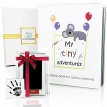 First 5 Years Baby Memory Book + Clean-Touch Ink Pad + Gift Box. Record ... - $38.79