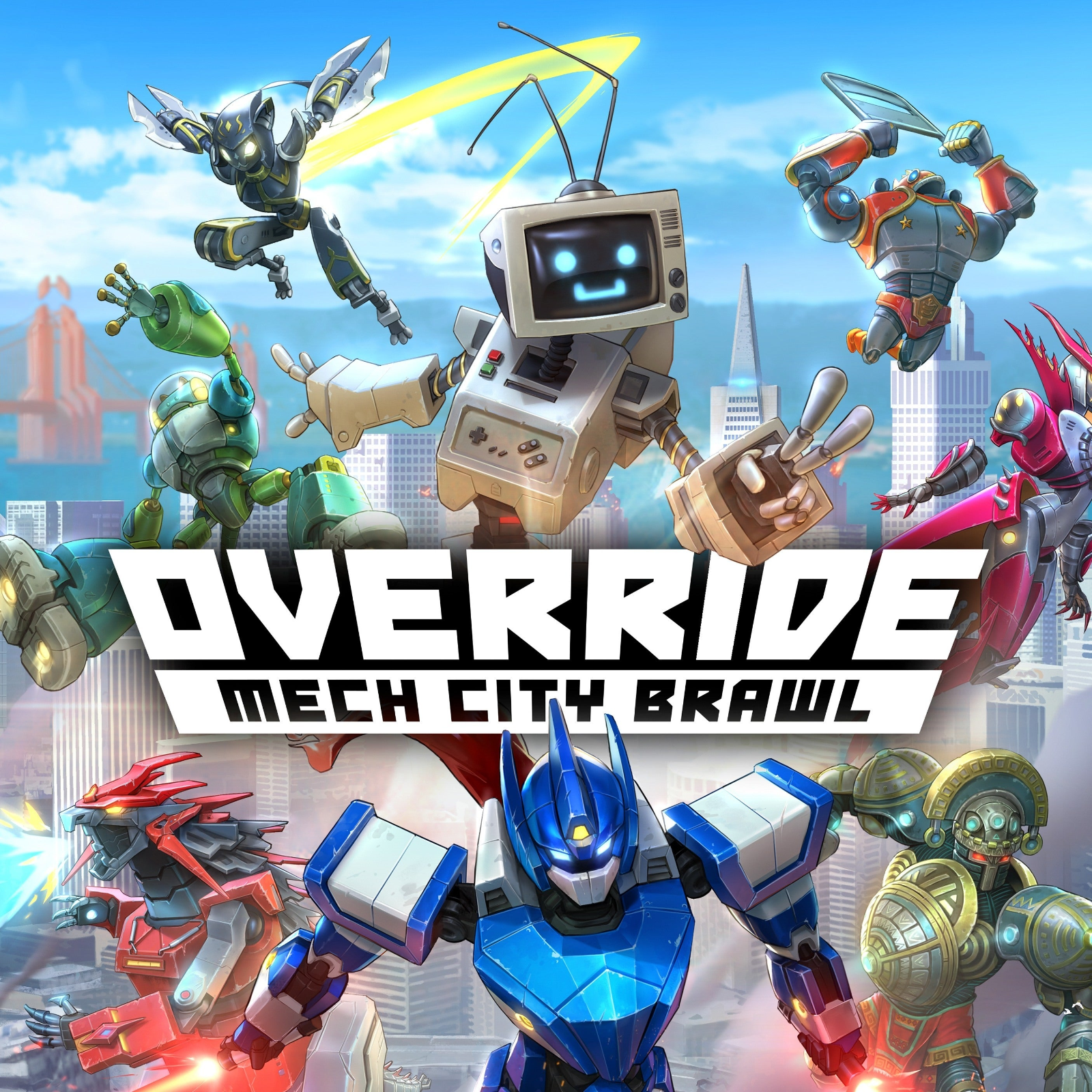Primary image for Override Mech City Brawl PC Steam Key NEW Download Region Free