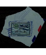 Vintage Used Honduras Rehabilitada Para El Servicio Publico 2 Centavos S... - $2.96