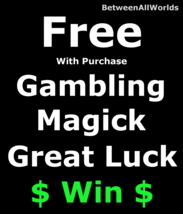 Free Freebie Wealth Gambling Luck Win  Money Prosperity Betweenallworlds... - $0.00