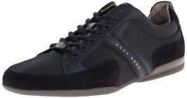 Hugo Boss Green Men's Premium Sport Fashion Sneakers Running Shoes Spacit image 10