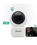 WiFi Security Camera 720P, PT Auto Tracking, Wireless HD, Motion and Sou... - $39.75