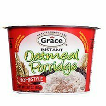 Grace Instant Oatmeal Porridge 2.82 Oz (Pack of 12) - $69.99