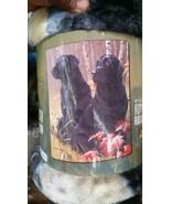 Labradors Dog American Heritage Woodland Plush Raschel Throw blanket - $23.75