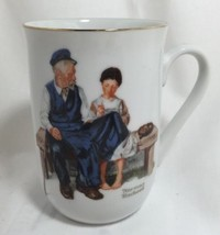 The Lighthouse Keeper's Daughter 1982 Norman Rockwell Museum Collectible... - $14.70