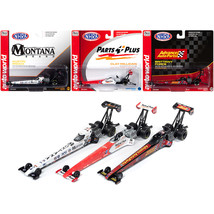 2019 NHRA TFD (Top Fuel Dragster) Release 2, Set of 3 pieces 1/64 Diecas... - $47.63