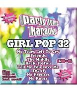 PARTY TYME KARAOKE Girl Pop Vol 32 CD+G Sealed NEW Ariana Grande Demi Lo... - $7.42