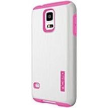 Incipio DualPro SHINE Case for Samsung Galaxy S5 - White/Pink - SA-528-W... - $18.00
