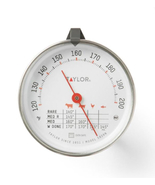 "Taylor Meat Thermometer, 3"" Dial, Oven Safe, Slide Temp Reference - $8.95"