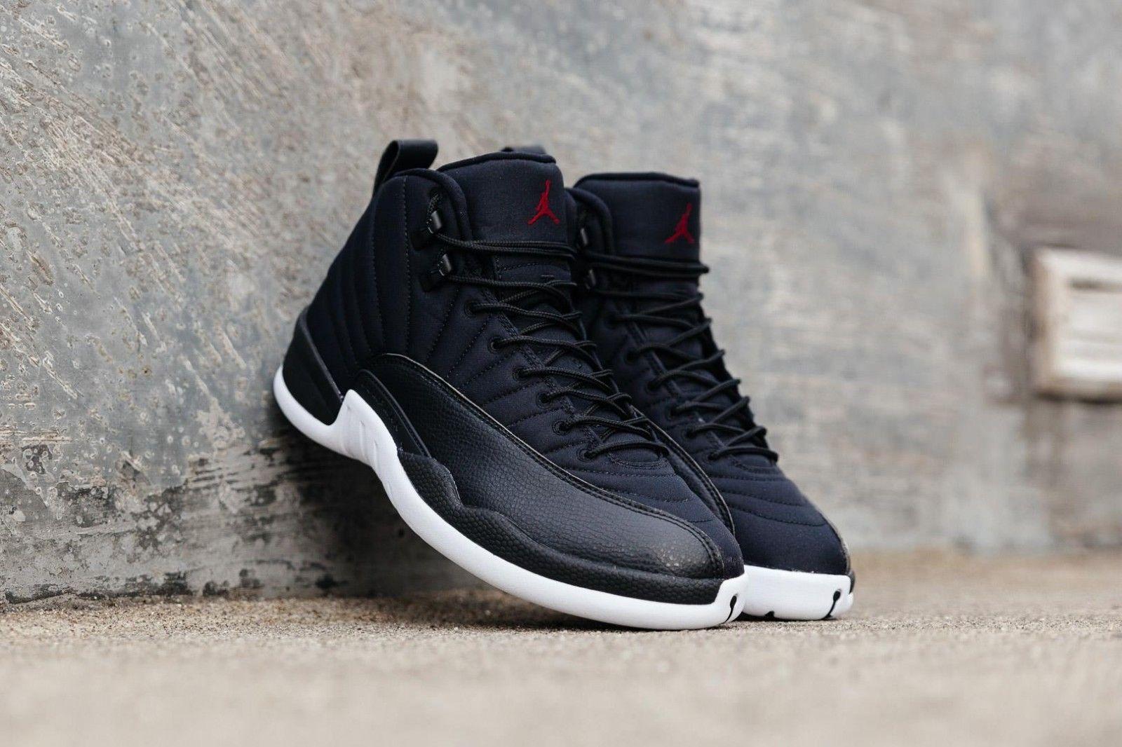 b3aca6a37fb1 Nike Air Jordan 12 Retro Black Nylon   and 50 similar items. S l1600