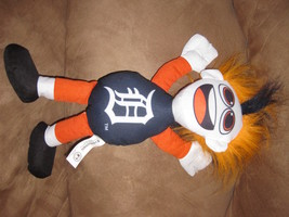 "Detroit Tigers Funny Hair Dude Guy Mlb Baeball Brand New Nwt Stuffed W Tags 15"" - $7.99"