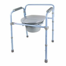 Carex Folding Commode, Portable Toilet For S And Bedside Commode Chair, ... - $56.85