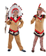 Boys - Native American Indian Costume  - ages 5 to 14 - $35.42