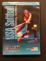 USA Softball Instructional Series 'Fundamentals of Hitting' DVD - Tested - $9.41