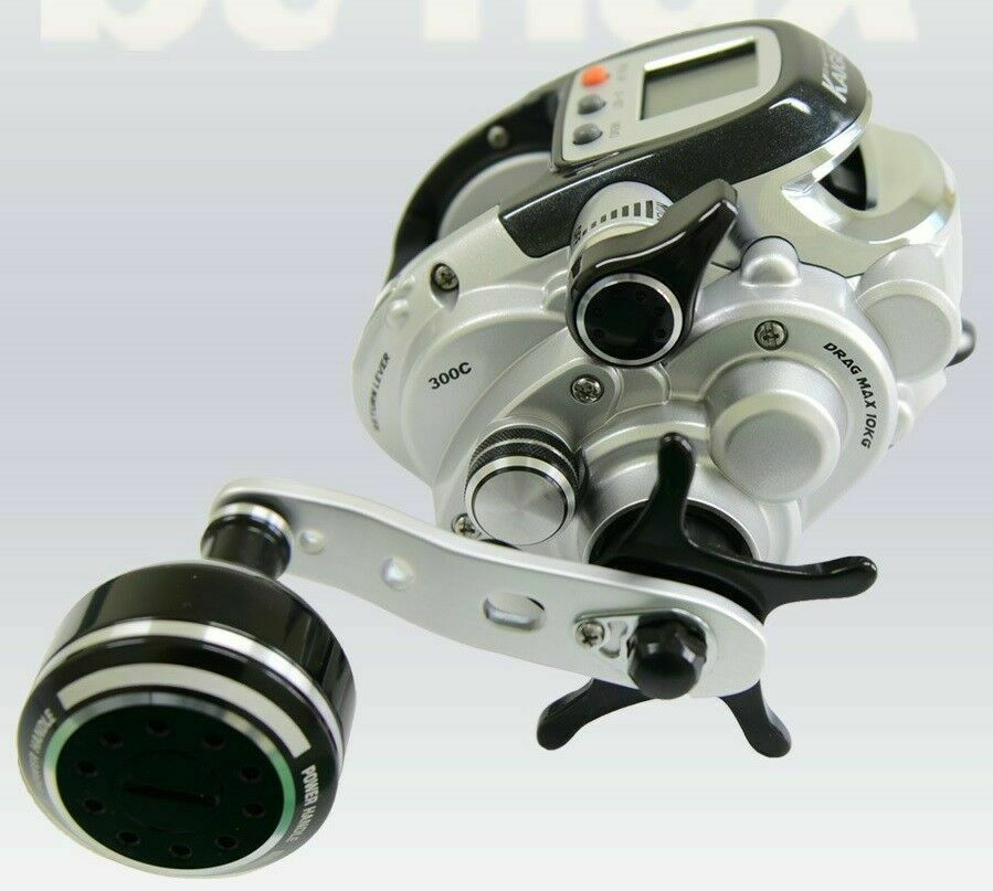 KAIGEN 300C ELECTRIC MULTIPLIER REEL with english manual