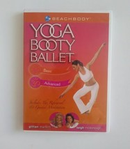 Yoga Booty Ballet DVD Marloth McDonough Beachbody Basic aAdvanced 124 mi... - $15.49