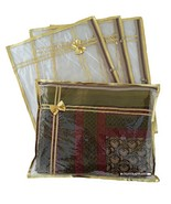 6 Pack SARI SAREE Cover / LEHENGA COVER BAGS PACKAGING STORAGE / Clear P... - $19.99