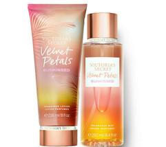 Victoria's Secret Velvet Petals Sunkissed Fragrance Lotion + Mist Duo Set - $39.95