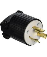 Cooper Electric Locking Plug Twist Lock L6-20 20A 250V L620P - $10.89
