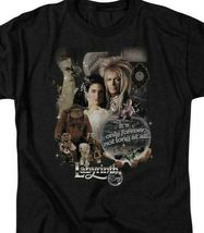 Labyrinth David Bowie Fantasy Cult film Retro 80s adult graphic t-shirt LAB137 image 3