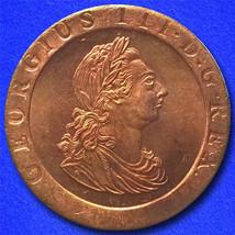 1797 United Kingdom Penny - $9.99