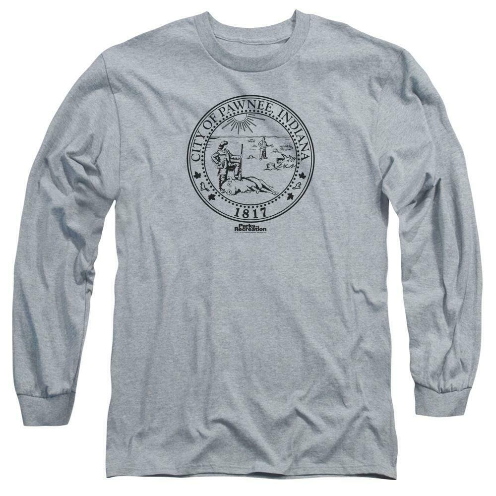 City of Pawnee Indiana 1817 t-shirt Parks & Recreation long sleeve tee NBC348