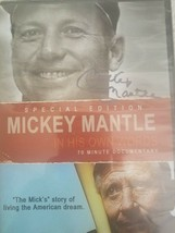 MICKEY MANTLE (DVD-Sealed 2011)  IN HIS OWN WORDS-DVD w/Yogi Berra, Carl... - $18.50