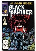 BLACK PANTHER #1 comic book 1988-Marvel-First issue NM- - $24.83