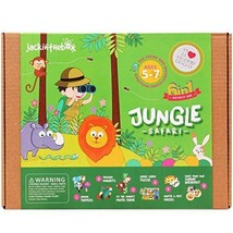 Jungle Safari 6-in-1 Craft Kit for Boys and Girls Ages 5-7 Years - $23.99