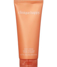 CLINIQUE HAPPY Body Cream 6.7oz/200ml NEW - $37.50