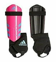 adidas Performance Ghost YouthSmall or  Med Shin Guards Bright Pink Cyan... - £12.35 GBP