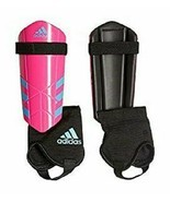 adidas Performance Ghost YouthSmall or  Med Shin Guards Bright Pink Cyan... - $13.59