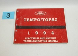 1994 Tempo Topaz Electrical and Vacuum Trouble Shooting Service Manual USED 3 - $14.80