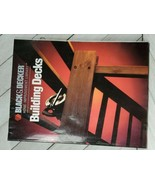 "By Black & Decker's Home Improvement LIbrary - ""Building  Decks"" - $3.96"