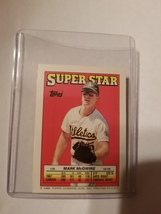 1988 Topps Chewing Gum Mark McGwire Baseball card (medium size) - $8.00