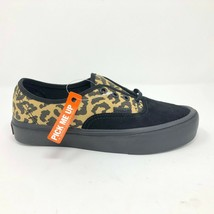 Vans Authentic Lite (Animal) Black/Black UltraCush Skate Shoes Womens Si... - $49.95