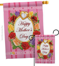 Happy Mother's Day - Impressions Decorative Flags Set S115071-BO - $57.97