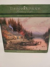 Thomas Kinkade The End of a Perfect Day Jigsaw Puzzle (Ceaco, 1000 Pieces) - $18.69