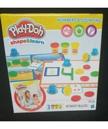 Play Doh Shape & Learn Numbers Counting Factory Sealed Brand New   Age 2+ - $19.20