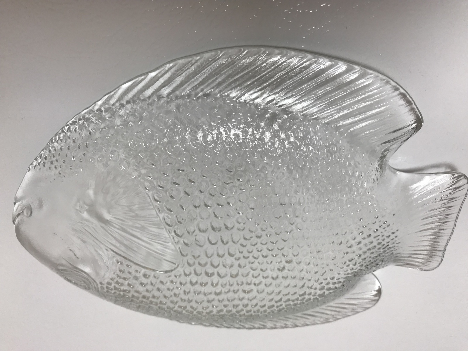 Arcoroc France Poisson 6 Clear Glass Fish and 31 similar items