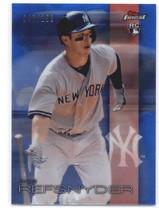 2016 Topps Finest Blue Refractors #33 Rob Refsnyder Yankees NM-MT SER/150 - $4.23