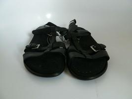 New Ecco Womens Black T-Strap Sandalls Size 8.5-9 (EU 39) - $69.99